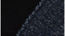 Ткань Трикотаж Шерстяной вязаный темно-синий