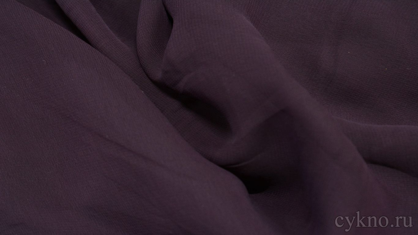 Шифон пурпурный
