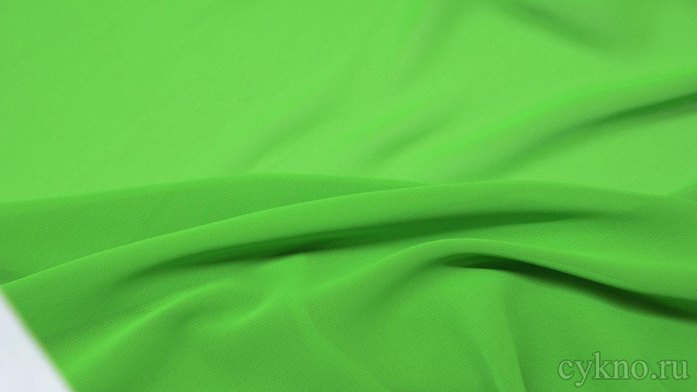 Шифон цвета лайм