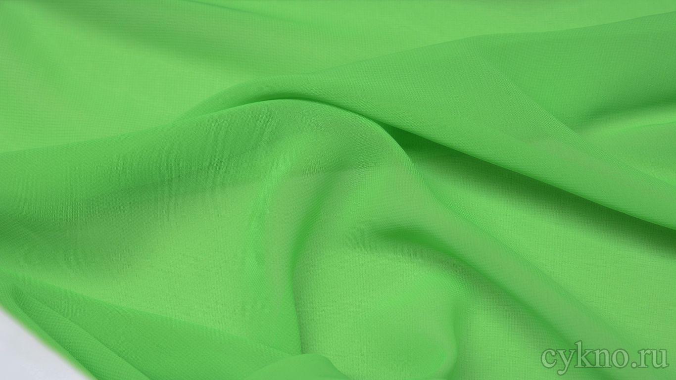 Шифон светло-зеленый