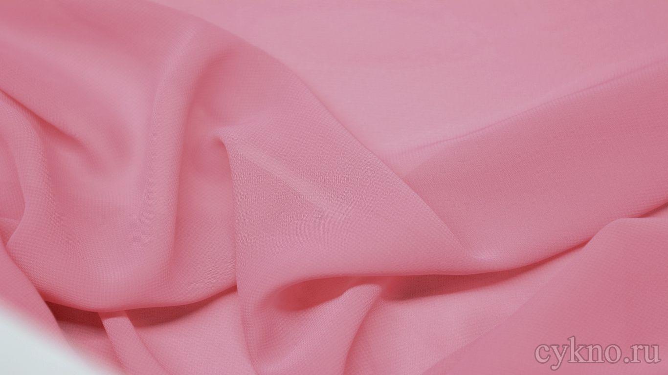 Шифон ярко-розовый