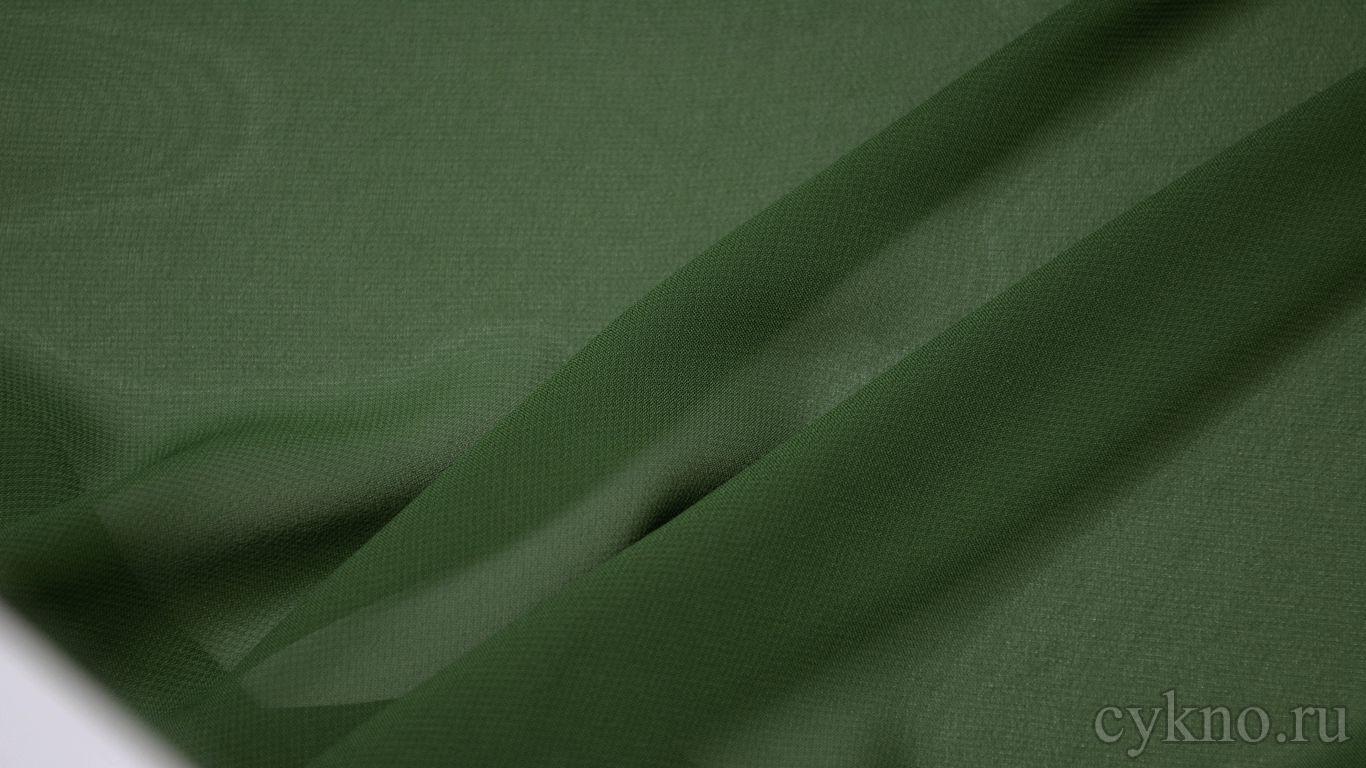 Шифон болотного цвета