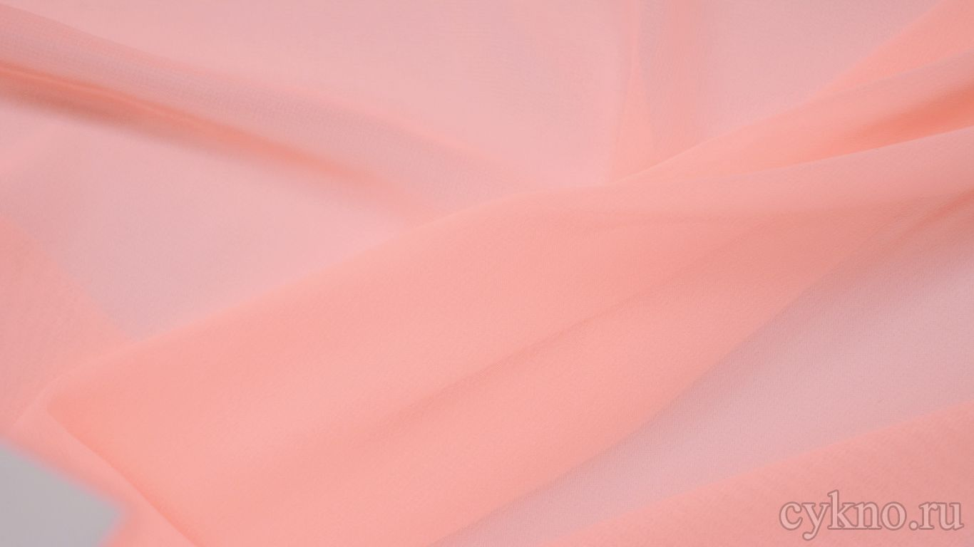 Шифон нежно-розовый