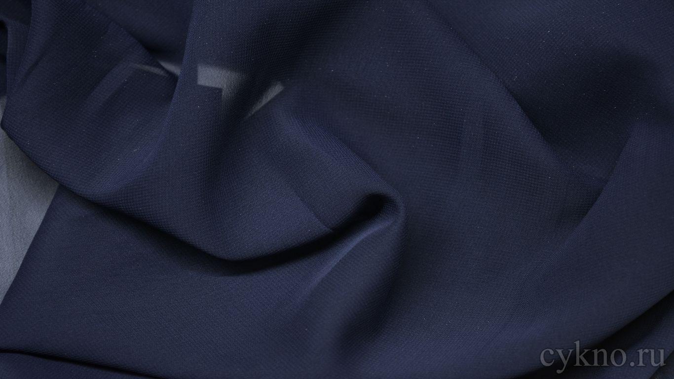 Шифон иссине-фиолетовый