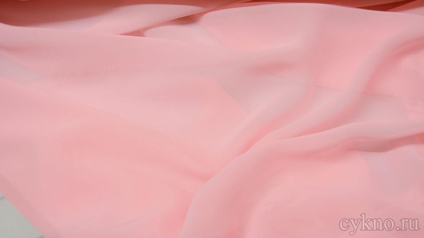 Шифон розовый