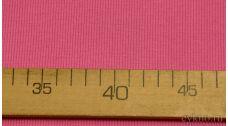 Ткань Трикотаж хлопковый однотонный пастельно-розового оттенка