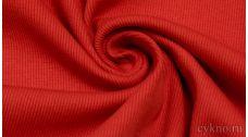 Ткань Трикотаж хлопковый кораллового цвета