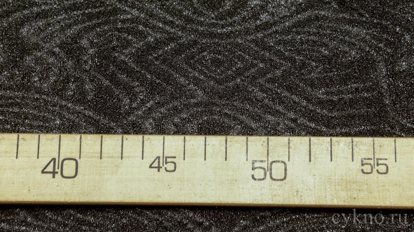 Трикотаж креповый полиэстер с абстрактным принтом