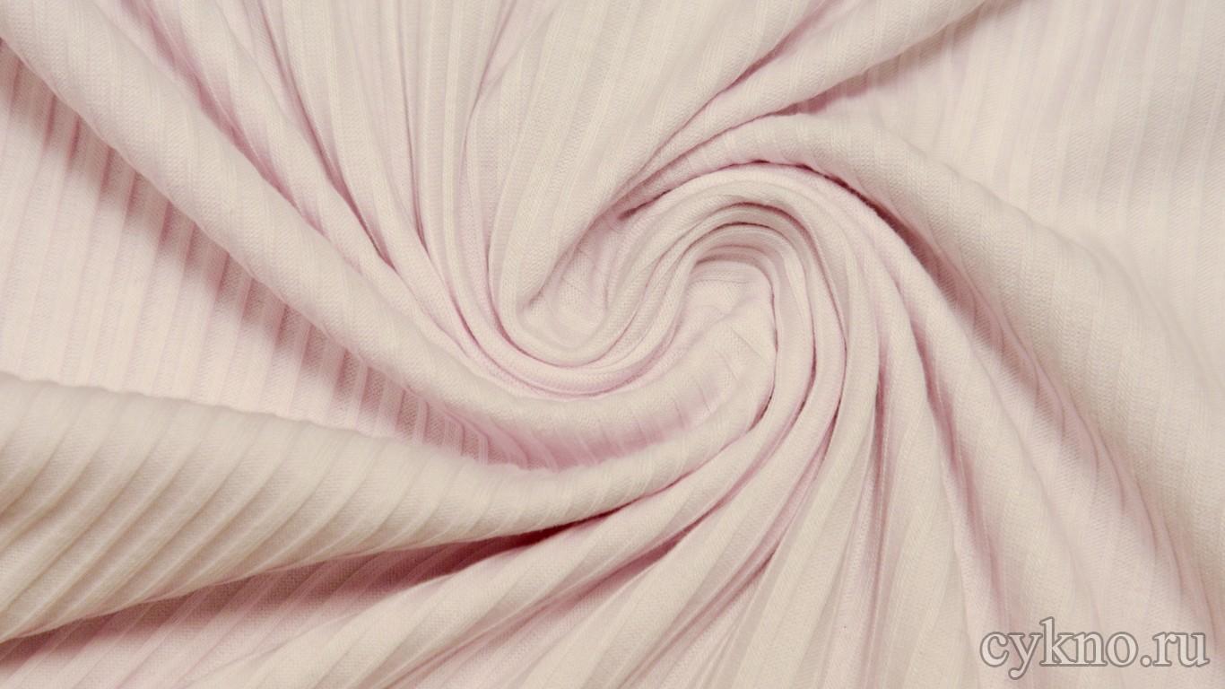 """Ткань Трикотаж вискозный нежно-розовый """"Авиана"""""""