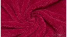 Мех Бургундский розовый