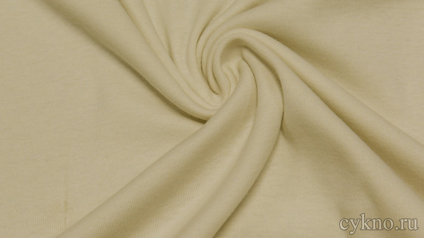 Ткань Трикотаж Чулок бежевый