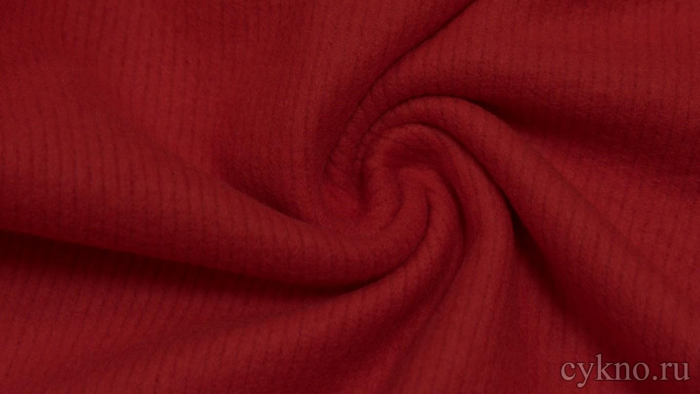 """Ткань Трикотаж темно-красный """"Мантуя"""""""