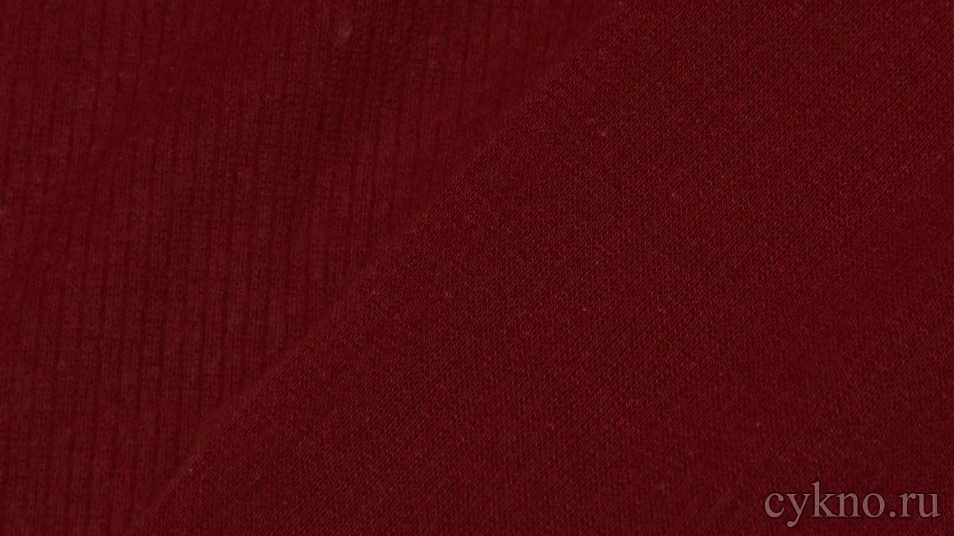 """Ткань Трикотаж бордовый однотонный """"Ликата"""""""