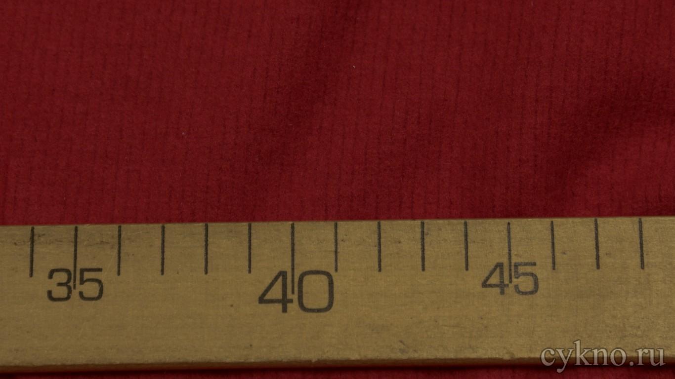 Ткань Трикотаж смесовый бордового цвета