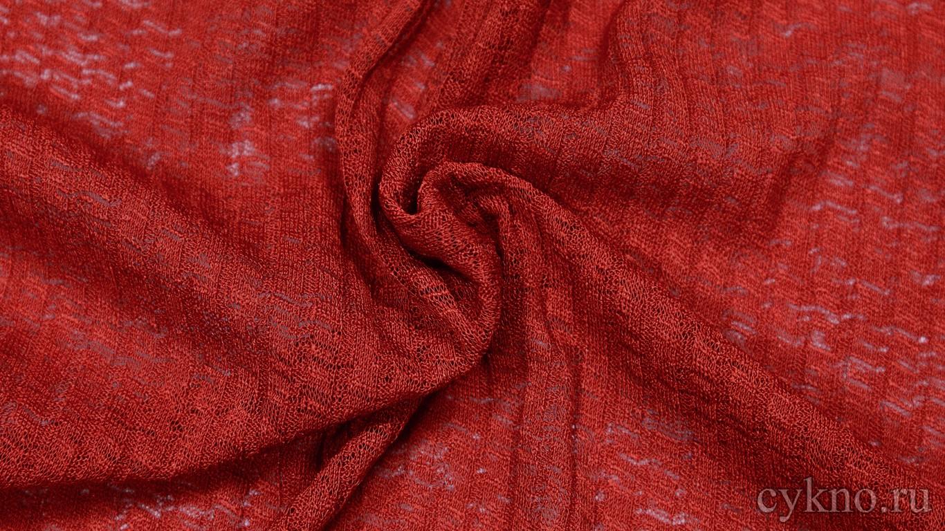 Ткань Трикотаж Красная