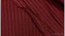 Ткань Трикотаж Бордовая