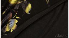 """Ткань Трикотаж """"Золотые Цветы"""""""