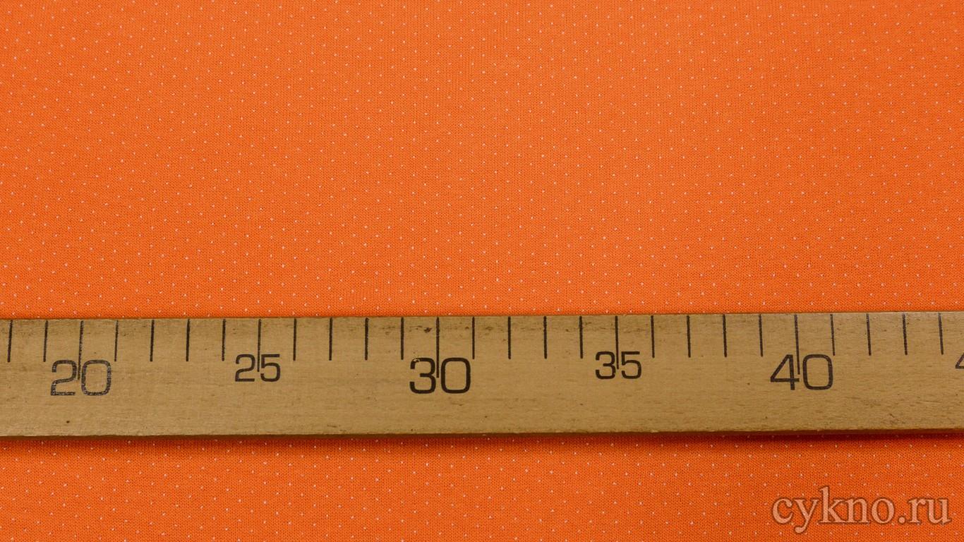 Ткань Трикотаж Оранжевая