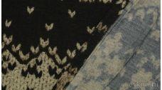 """Ткань Трикотаж с классическим принтом """"Рабби"""""""