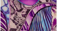 """Ткань Трикотаж с абстрактным узором """"Алассио"""""""
