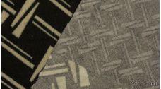 """Ткань Трикотаж """"Черно-белое безумие"""""""