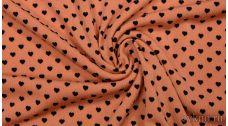 Ткань Трикотаж Персиковая
