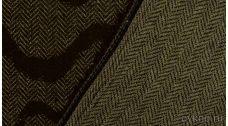 """Ткань Твид шерстяной коричневый """"Камольи"""""""