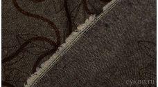 """Ткань Твид шерстяной коричневый """"Перуджа"""""""