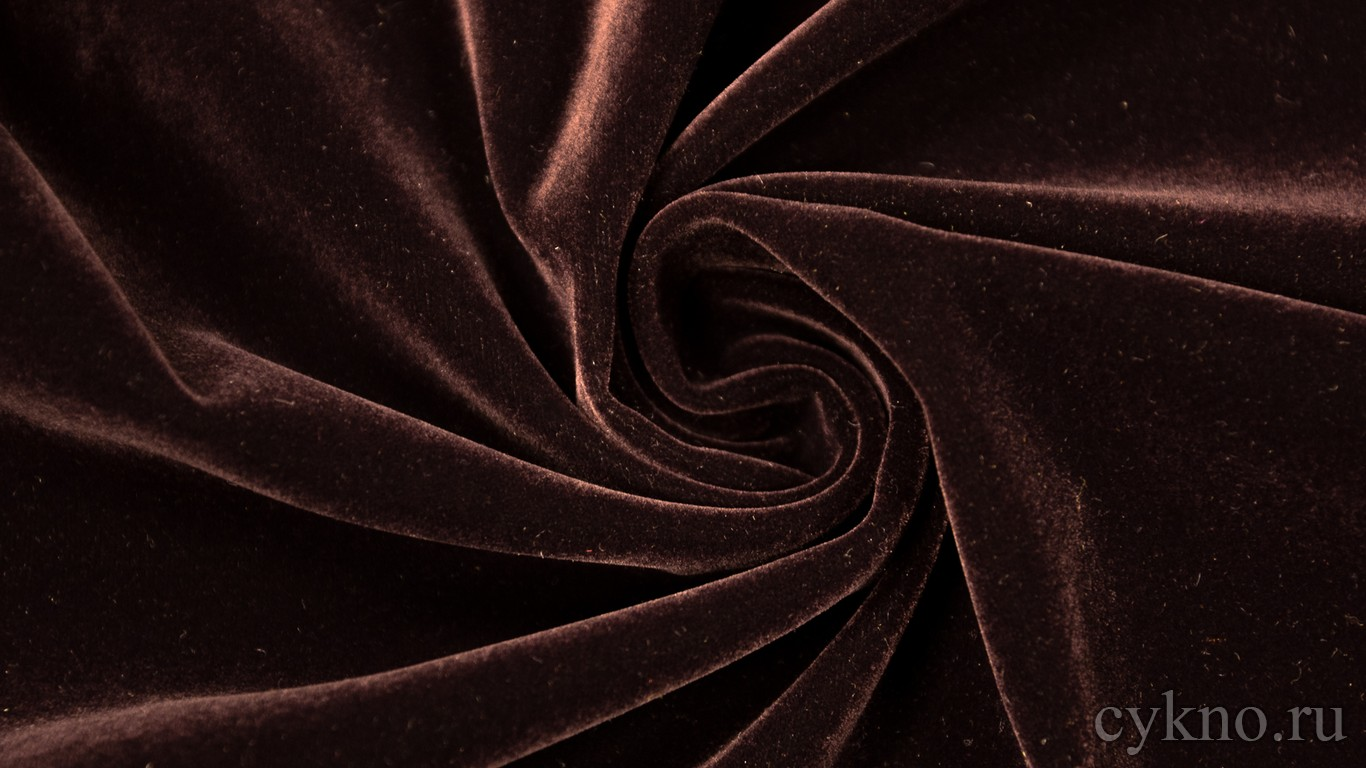 Ткань Замша Темно-бордовая