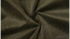 Ткань Замша Серая на Зеленом