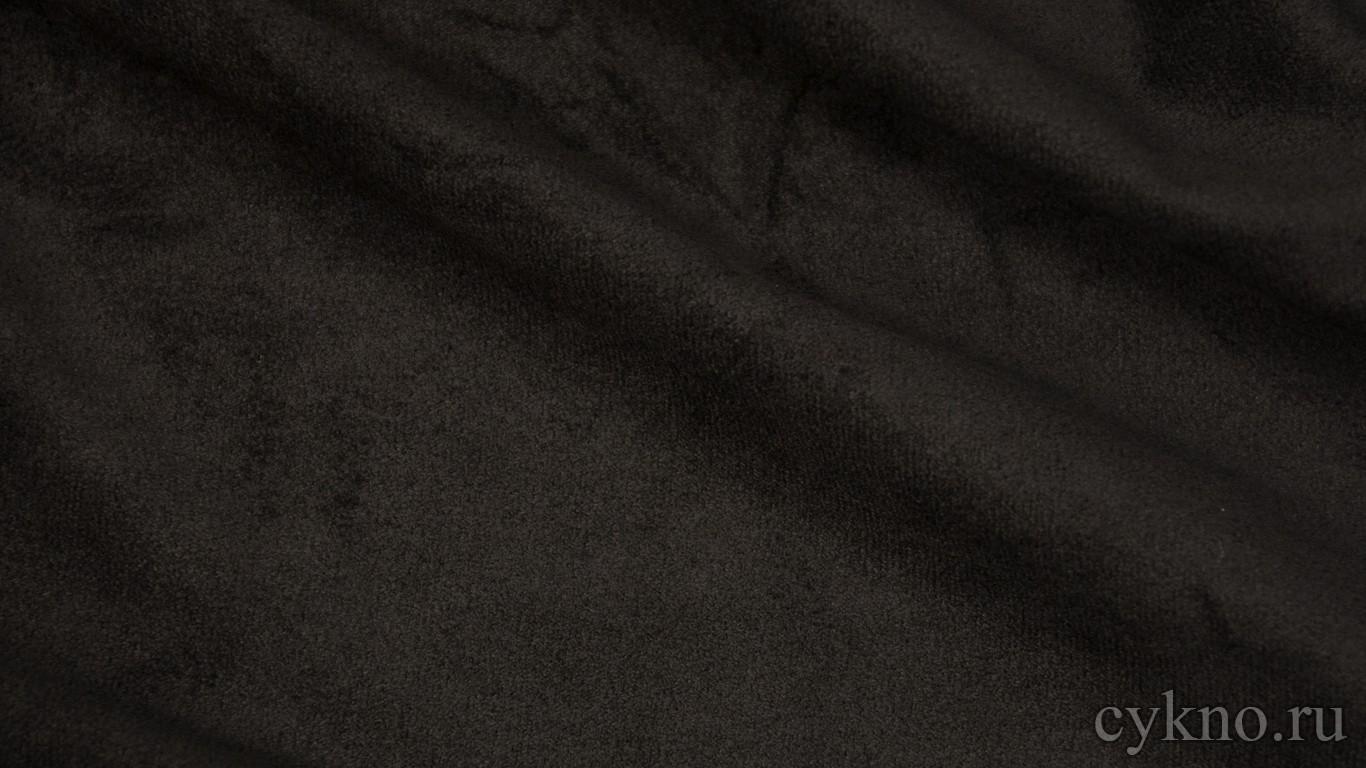 Ткань Замша Черная
