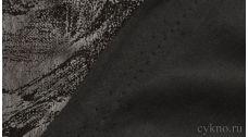 Ткань Замша Угольно-черная
