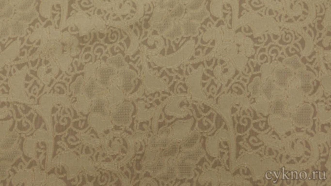 Ткань Жаккард бледно-коричневый