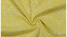 Ткань Жаккард желтый