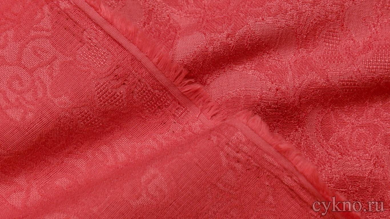 Ткань Жаккард бледно-карминный