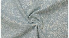 Ткань Жаккард серо-голубой