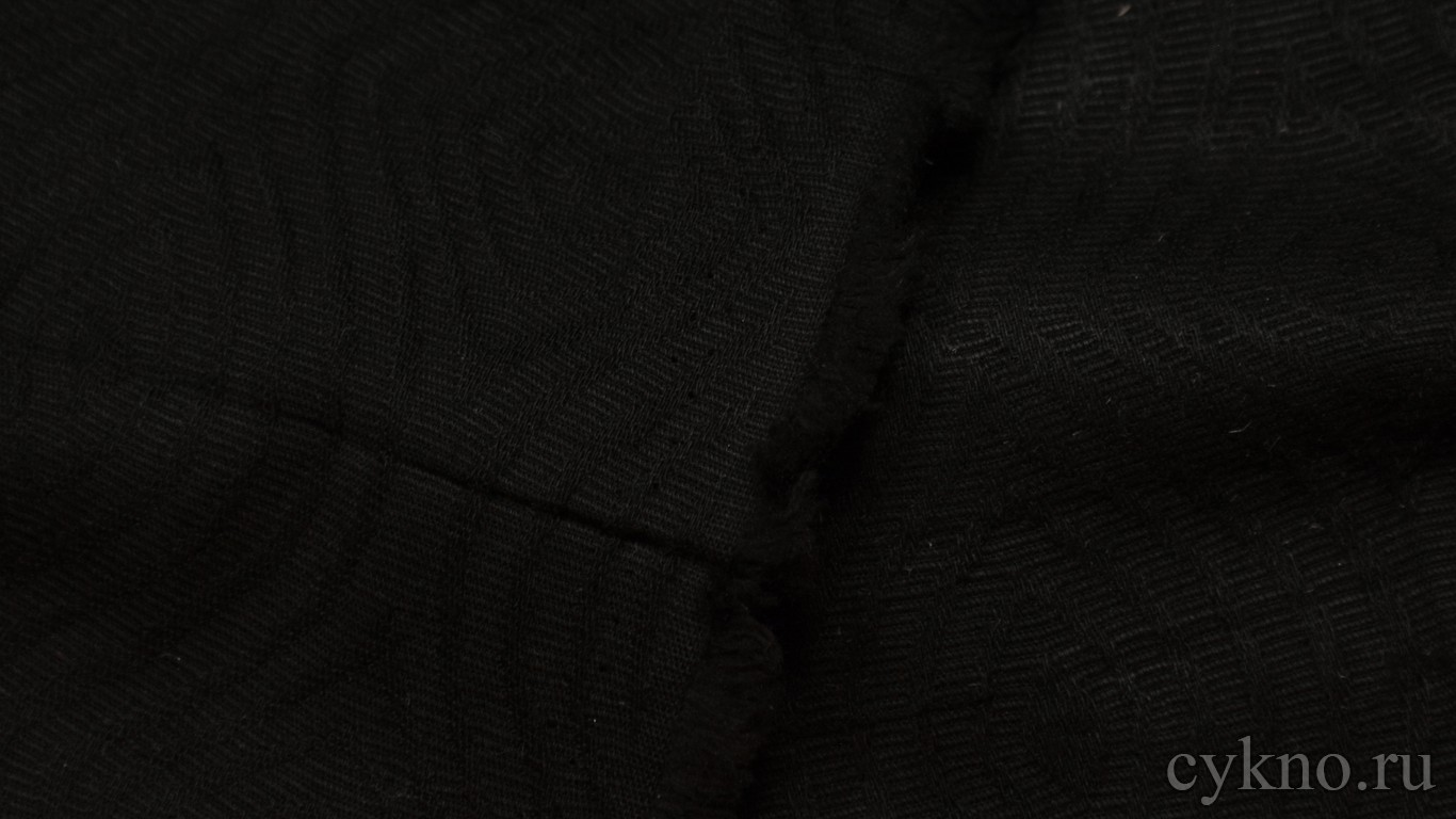 Ткань Жаккард черный