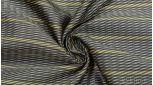 """Ткань Жаккард серый с желтыми полосами """"Сиань"""""""