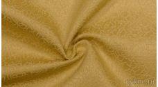 Ткань Жаккард Хлопковый Золотой