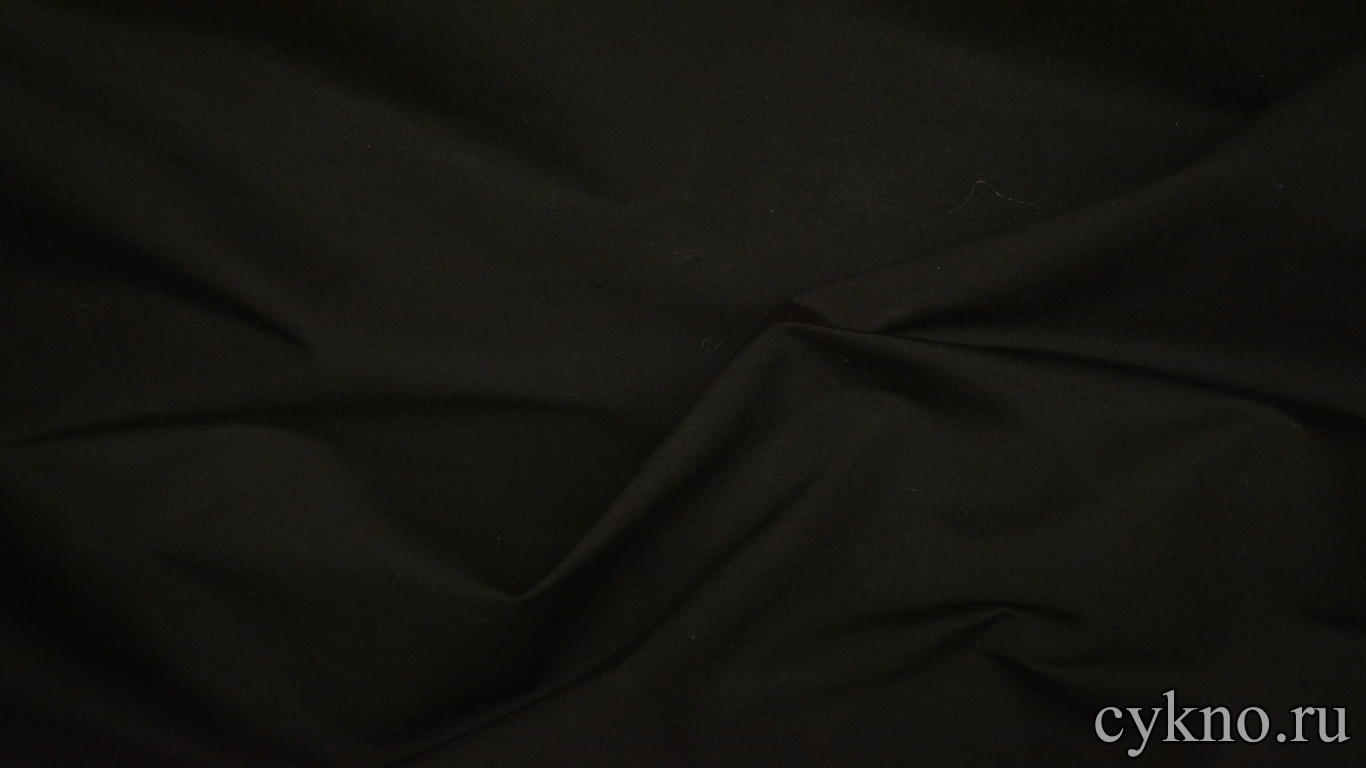Вискоза костюмная черная