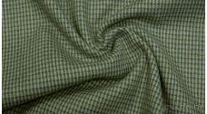 Шерсть Костюмная гусиная лапка сине-зеленая