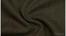 Шерсть Костюмная темного оливкового цвета