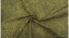 Джинсовая ткань с анималистическим принтом