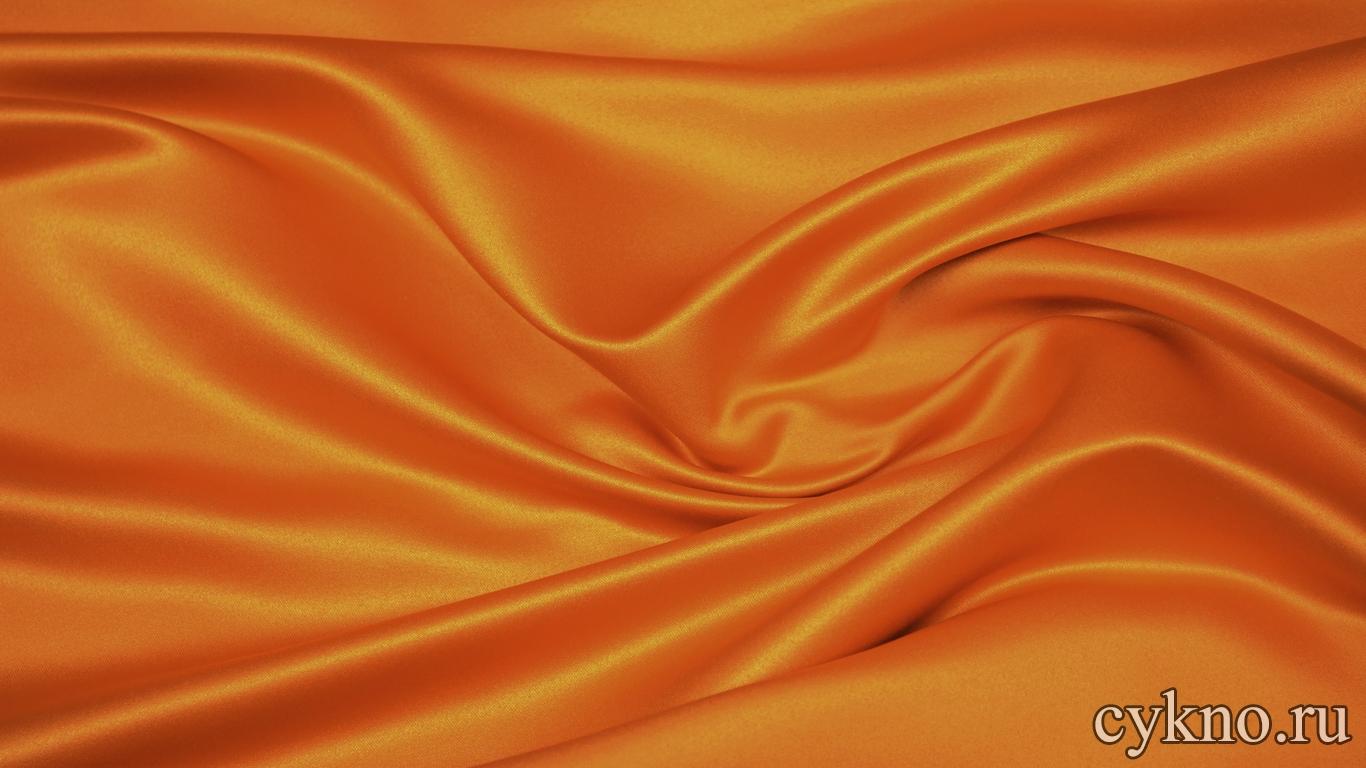 Костюмная ткань оранжевая