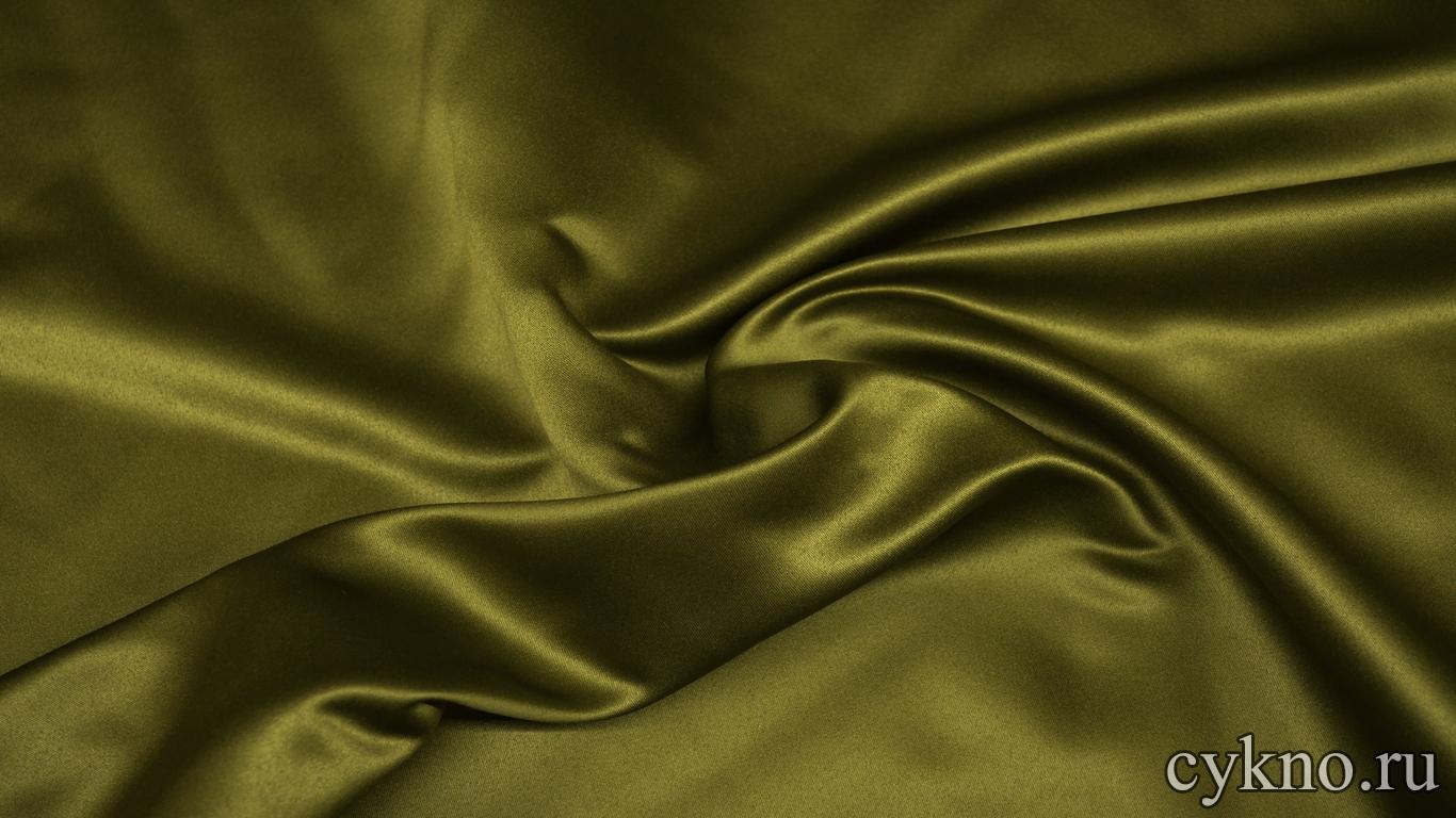 Костюмная ткань оливковая