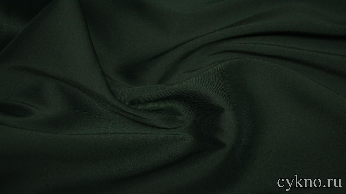 Костюмная ткань темно-зеленая